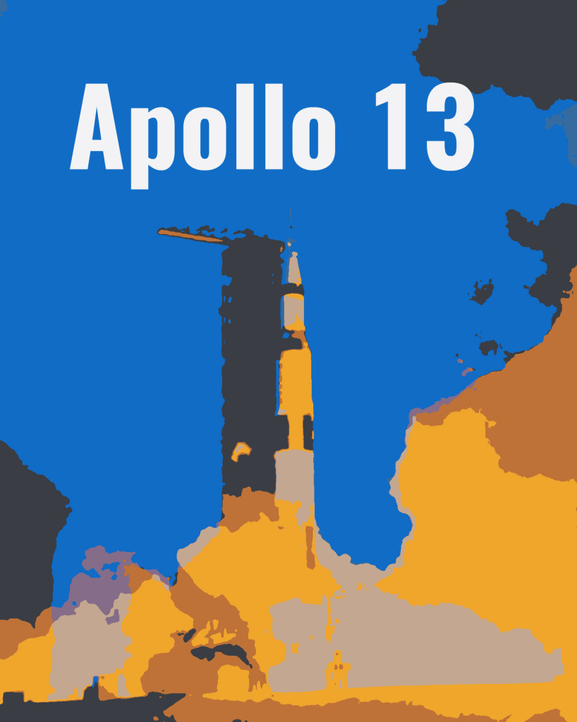 Apoll 13 Launch - Text