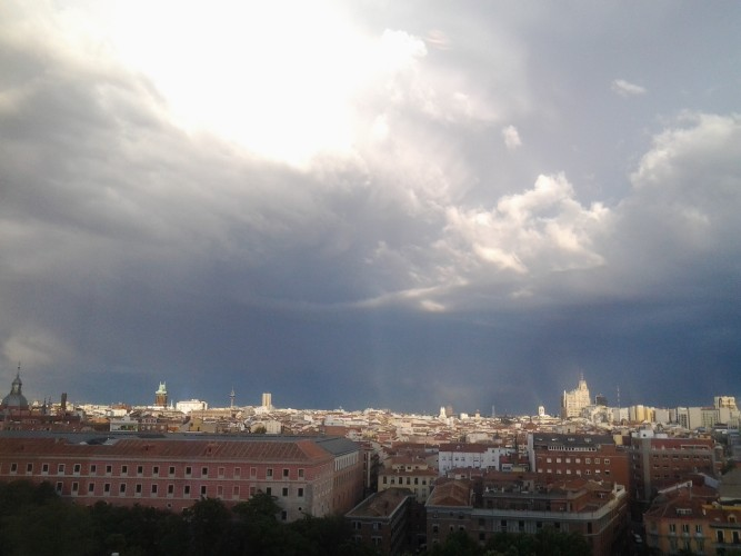Three Skies of Madrid