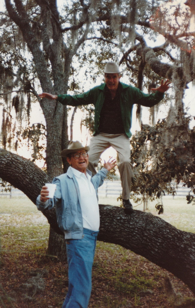 Lawton Chiles and Wilbur Boyd