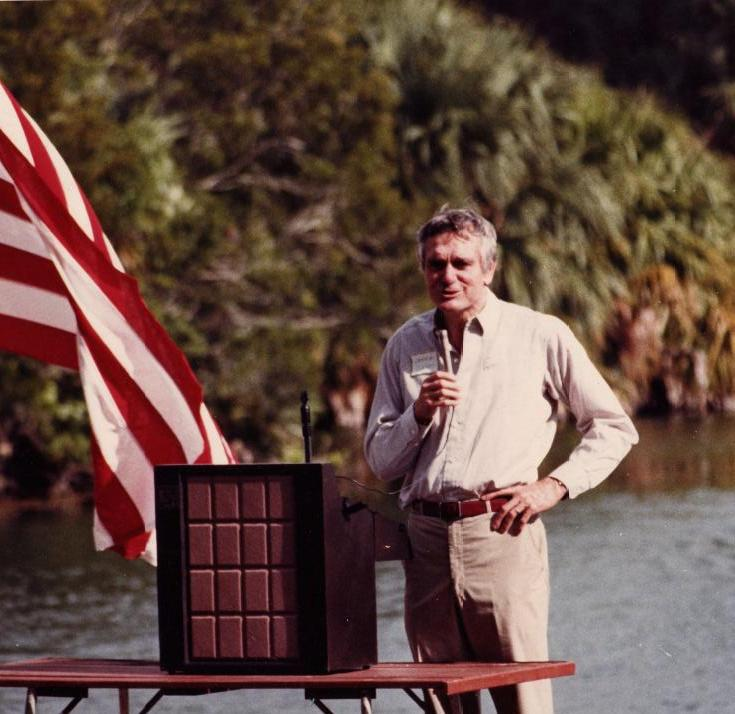Florida Gov. Lawton Chiles, Ed's father