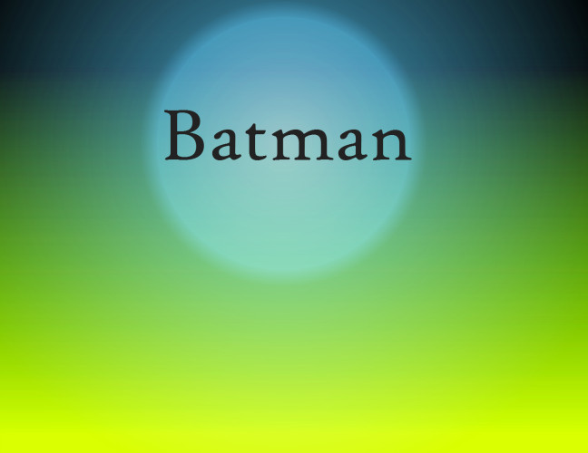 New Film Score Essay: Batman