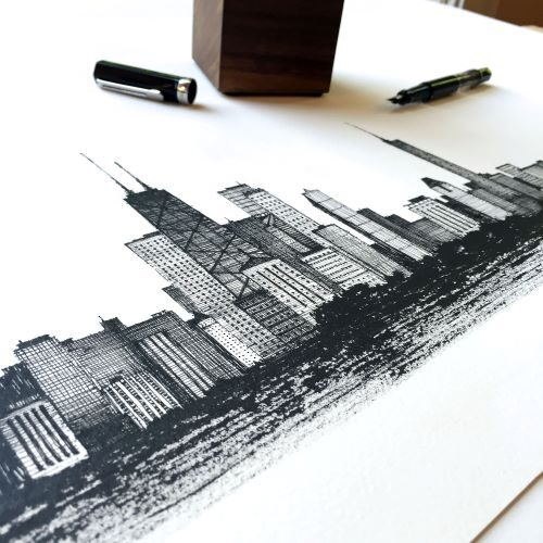 Art with Fountain Pens